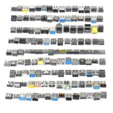 120 PCS  USB 2.0 & 3.0  Jack Connector Port For Laptop Lenovo Acer Samsung Dell HP Toshiba Sony