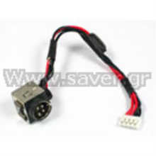 Toshiba Satellite X200 P200 P205 DC Jack W/Cable Βύσμα Τροφοδοσίας