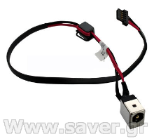 βύσμα τροφοδοσίας Laptop Aspire One KAV60 P531 A110 DC Jack DC301007400
