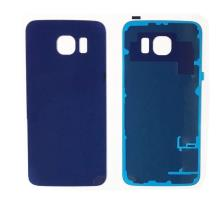 Samsung Galaxy S6 Battery Back Cover Blue With Adhesive