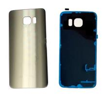 Samsung Galaxy S6 Battery Back Cover Gold With Adhesive