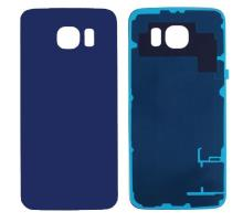 Samsung Galaxy S6 Edge Battery Back Cover Blue With Adhesive