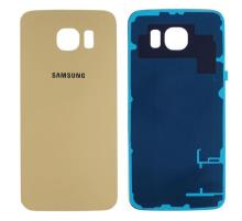 Samsung Galaxy S6 Edge Battery Back Cover Gold With Adhesive
