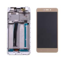 Xiaomi Redmi 4A Οθόνη & Touch Digitizer Assembly Gold With Frame