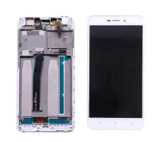 Xiaomi Redmi 4A Οθόνη & Touch Digitizer Assembly White With Frame