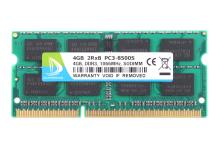 RAM DDR3 4GB 1066 Mhz 1067  PC3-8500S -07-10-F3   MacBook Pro - iMac -mac mini PC3-8500S SO-DIMM